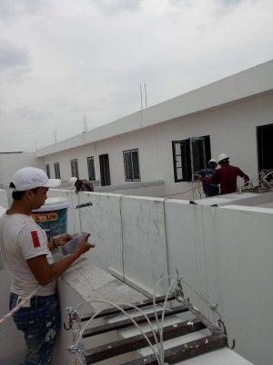 Những kinh nghiệm của thợ thi công sơn nhà Hà Nội mới nhất 2021 là gì?