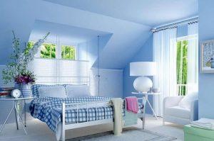 Sơn nhà màu xanh dương – Lựa chọn đúng đắn cho nhiều gia đình